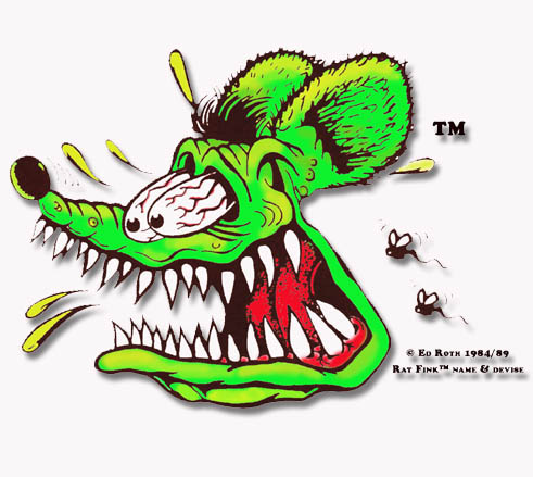 Rat Fink Zombie Pumpkins